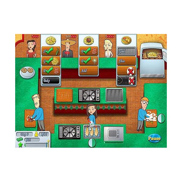 Helpful Tps for the Kitchen Brigade Game - Basic Time Management Game Play, Handling Customer Types, Using Upgrades, Achieving Expert Scores