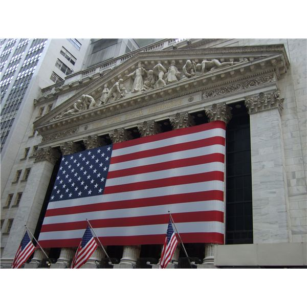 New York Stock Exchange (Image Credit: Wikimedia Commons)
