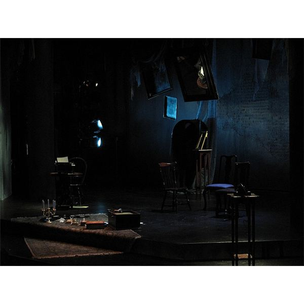 The Glass Menagerie Stage