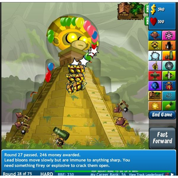Bloons Tower Defense 4 Expansion Screenshot