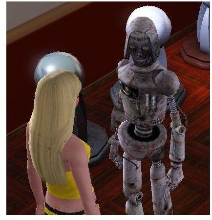 sims 3 robot