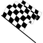 Wavy Checkered Flag