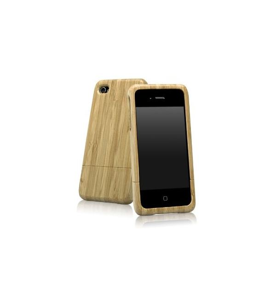 BoxWave True Bamboo iPhone 4 Case
