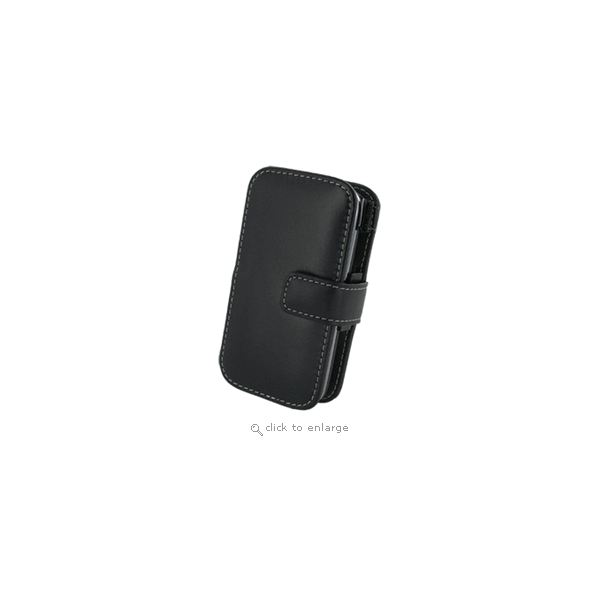 AT&T HTC Tilt 2 Book Leather Cover Black