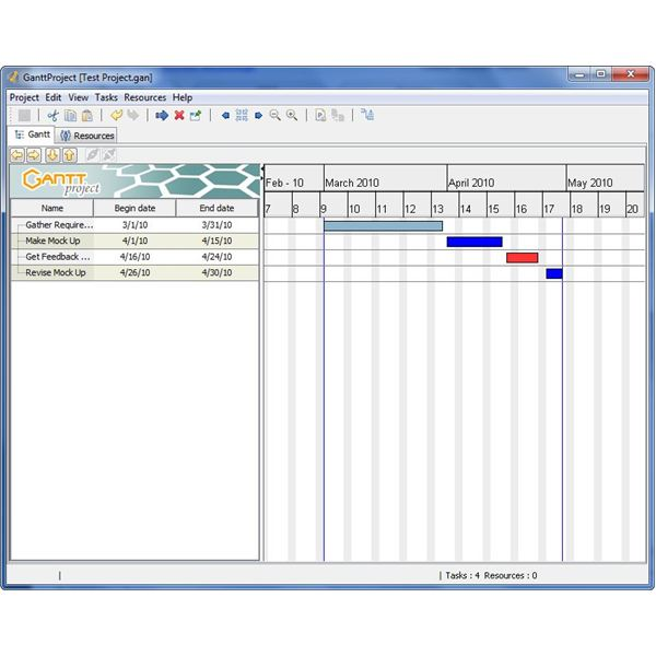 Free gantt chart creators scheduling tools that support gantt one nice free gantt chart creator is ganttproject although it may take some time to learn how to get the most out of this tool ganttproject comes with a ccuart Images