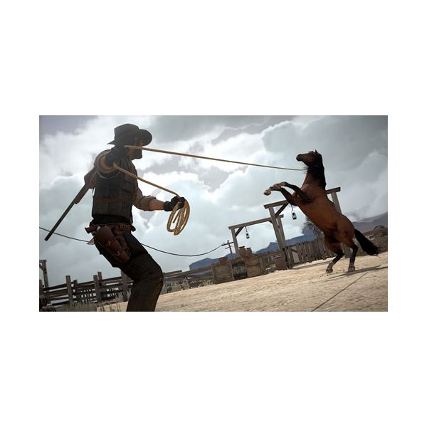 Red Dead Redemption Lasso Horse Breaking