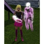 The Sims 3 Ghost Baby and Parents
