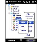 KeePassSD ppc - the Best Password Manager for Windows Mobile?