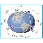 GNSS Network Covering Different Orbits