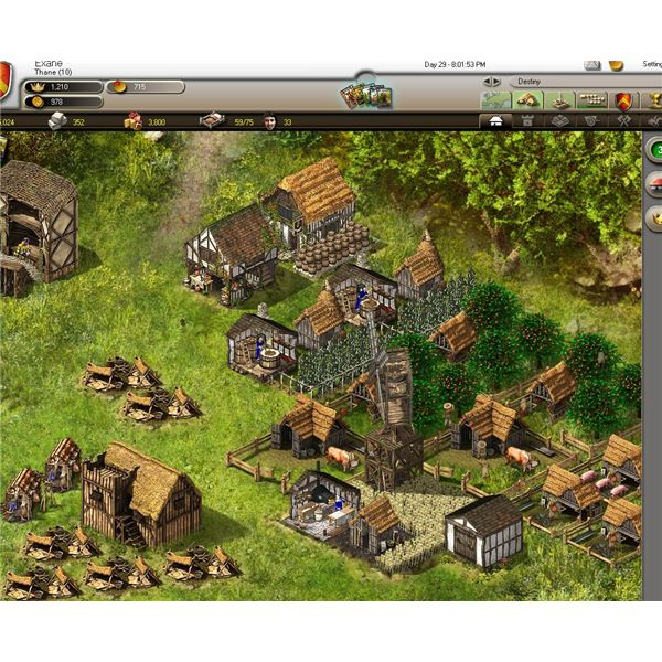 Castle Sim Games: Stronghold Kingdoms Online Guide