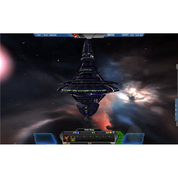 Review For Space Shooter MMORPG, Pirate Galaxy