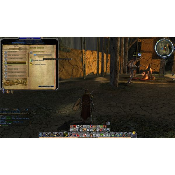 An image of the class deed screen.