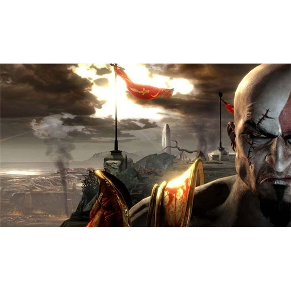 The God of War series has always featured amazing visual design.