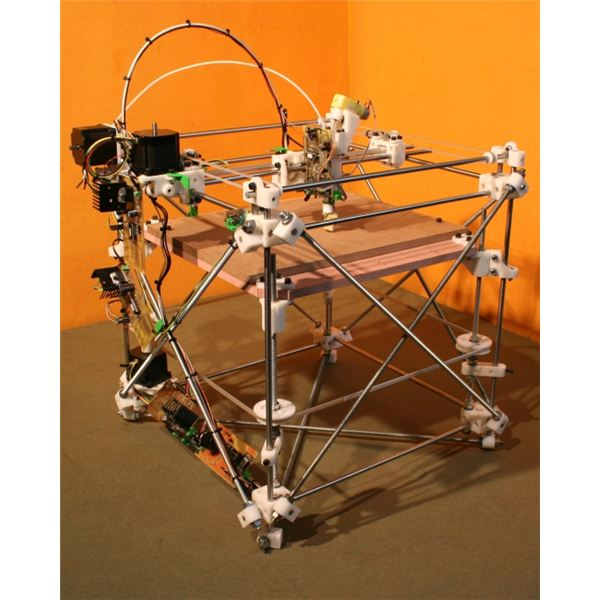 RepRap Screenshot from RepRap Website