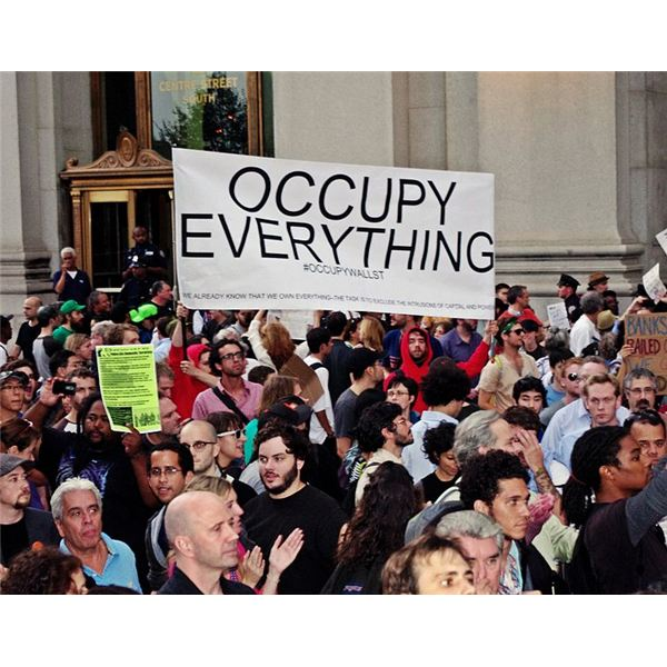 Occupy Wall Street movement is an offshoot of the Anonymous spirit