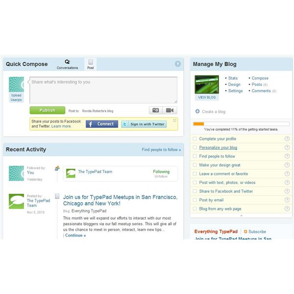This TypePad review has determined that the program is easy to use.