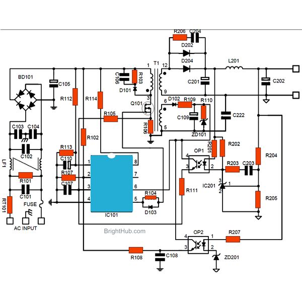 How to Build a Switch Mode Power Supply Circuit - SMPS