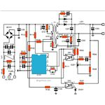 Switch Mode Power Supply SMPS Circuit Diagram, Image