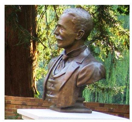 'Bust of W&M president, Lyon Tyler' by Sotochace/Wikimedia Commons