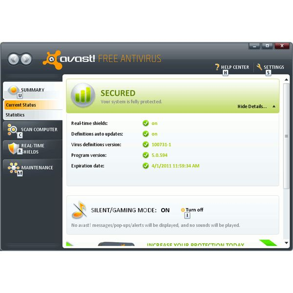 avast free antivirus anti-virus tools