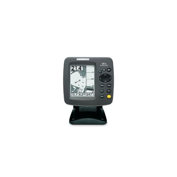 Hummingbird 161 Combo 4-Inch Waterproof Marine GPS and Chartplotter