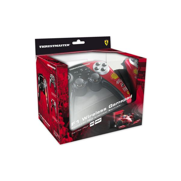 Keep Your Game Going With New Wireless PS3 Controllers Such As The Ferrari RF Wireless PS3 Controllers