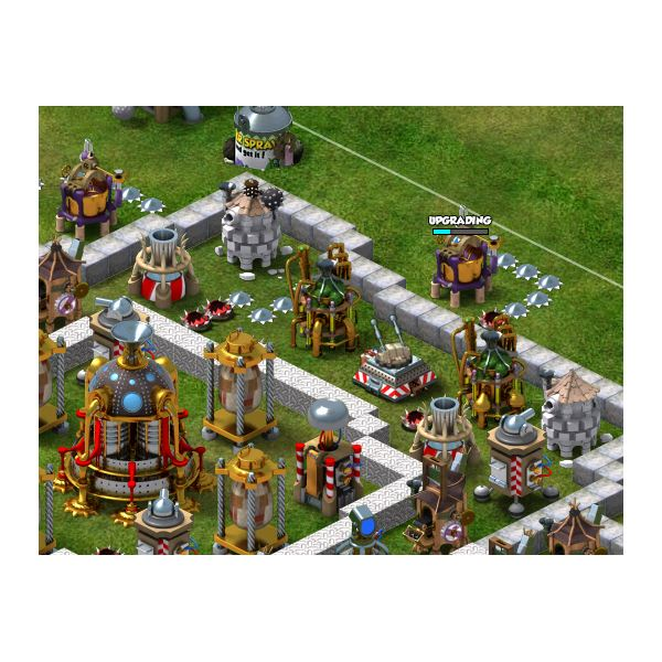 Defensive Towers and Baiting Units