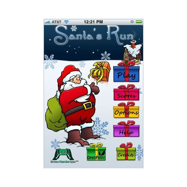 Santa's Run App Review: Deliver Christmas Presents on Your iPhone