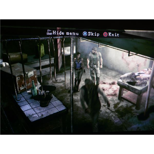 Chris Redfield and Sheva meet a friendly villager who provides them with weapons at the start of Resident Evil 5.