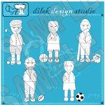 Digital Stamps: Football and Other Sports