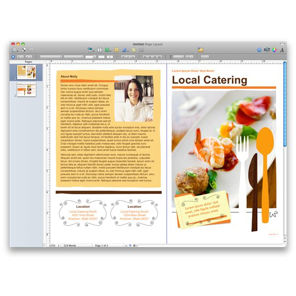 Maximize Productivity of Mac Os X Using Iwork Pages