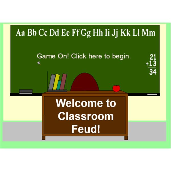 Interactive SMART Board Games: Classroom Feud