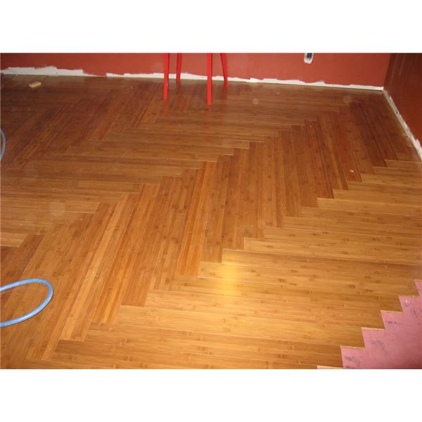 Green Design includes sustainable elements like bamboo floors.