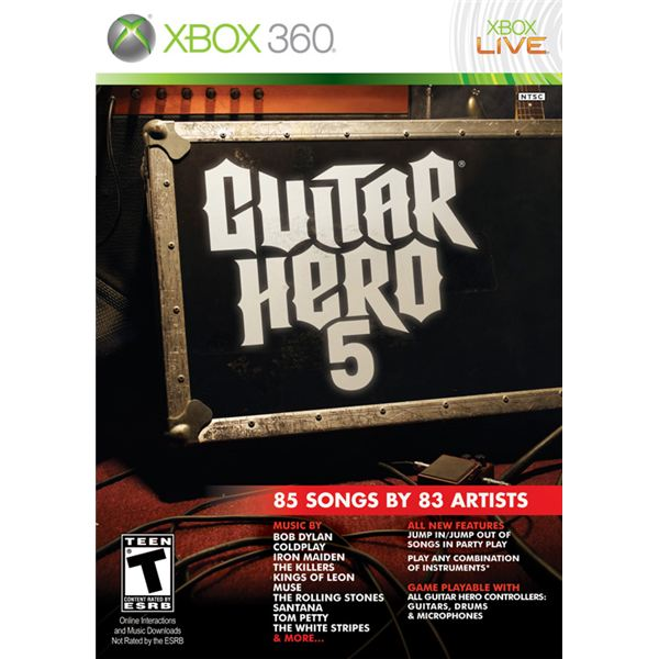 Guitar Hero 5 Cheats and Unlockables for Xbox 360