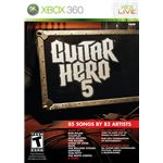 Guitar Hero 5 Xbox 360 Boxshot