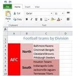 Merge and autofit in Excel