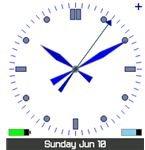 Vorino Clock Screensaver screenshot