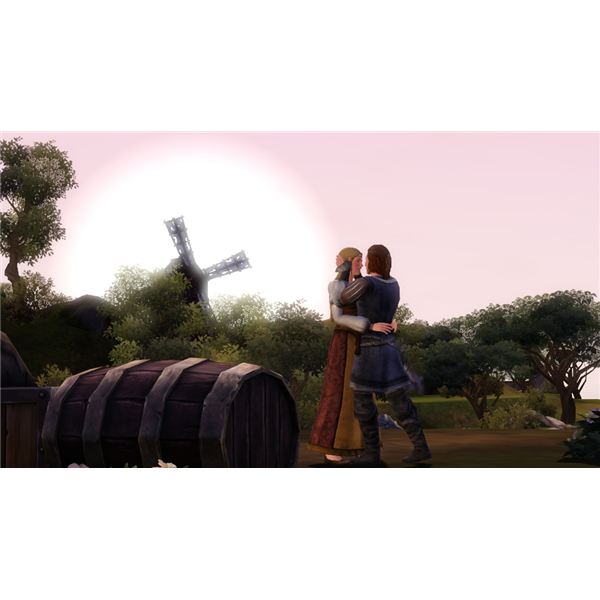 The Sims Medieval Romantic Couple
