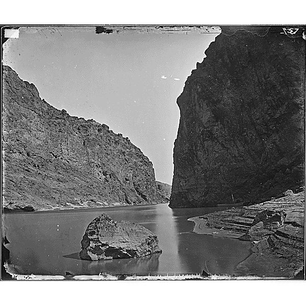 Black Canyon Colorado River 1871