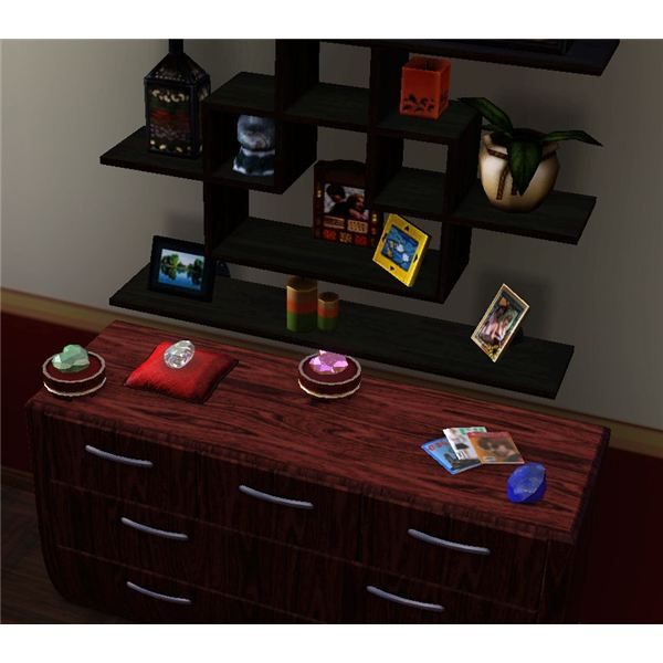 Sims 3 Gems Collection Displayed
