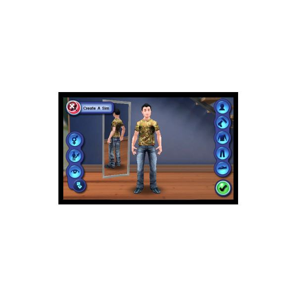 Creating a Sim in The Sims 3 for Windows Phone 7