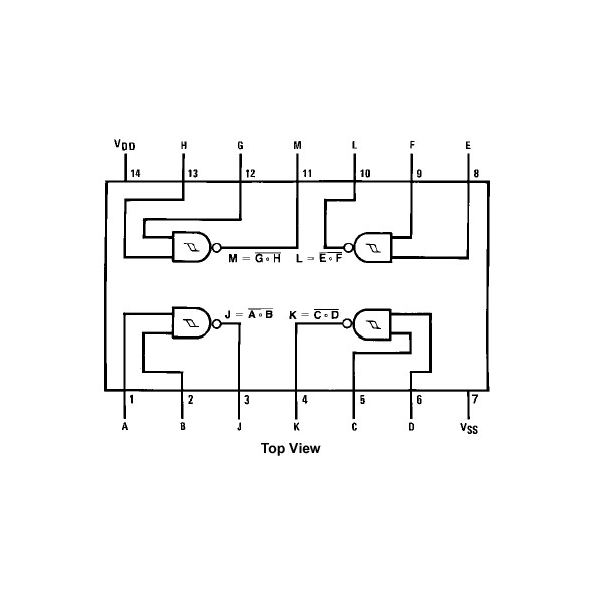 IC-4093 Pin-Out