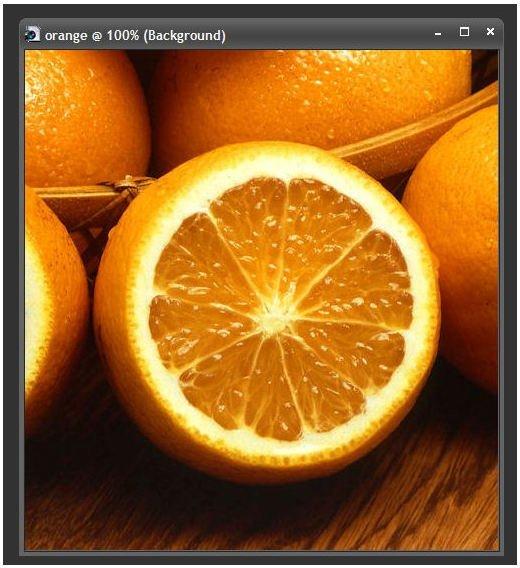 Original Orange Photo