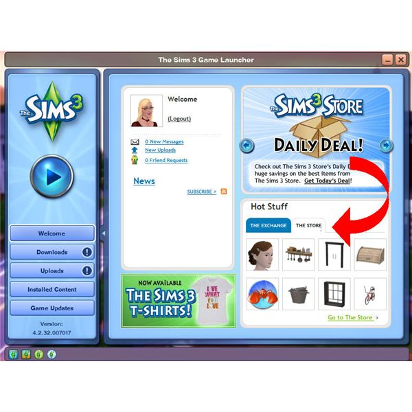 The Sims 3 website offers The Store which is an online store where players can download exclusive content for their game. It operates in the sense that you can pick and choose what you want to download instead of buying a bundle in a Stuff Pack that you may not want.