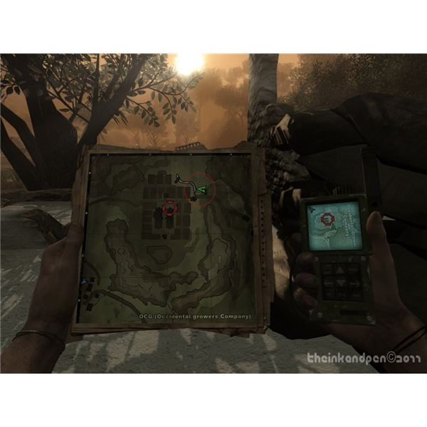 Far Cry 2 Map - Sniping Position