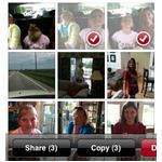 multiple image by email from iPhone