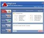 Registry scan result using RegCure
