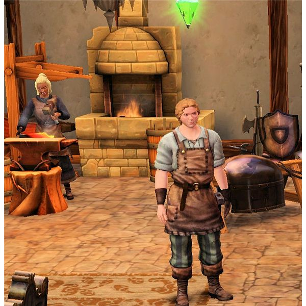 The Sims Medieval Blacksmith Guide