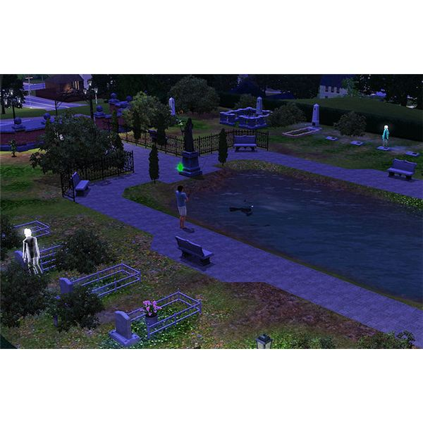 The Sims 3 Death fish