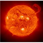 Our Closest Star - The Sun - Image courtesy of NASA